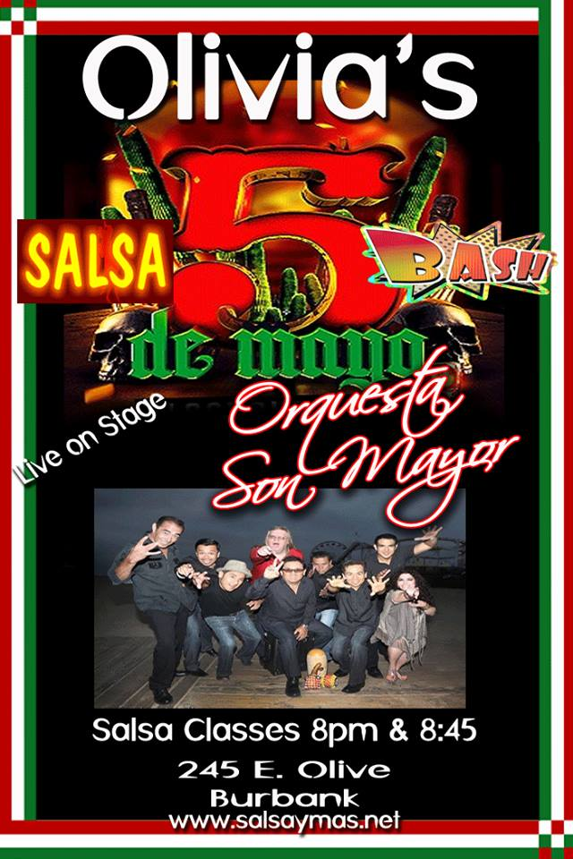 cinco de mayo salsa salsa classes, salsa bachata music and dancing los angelels
