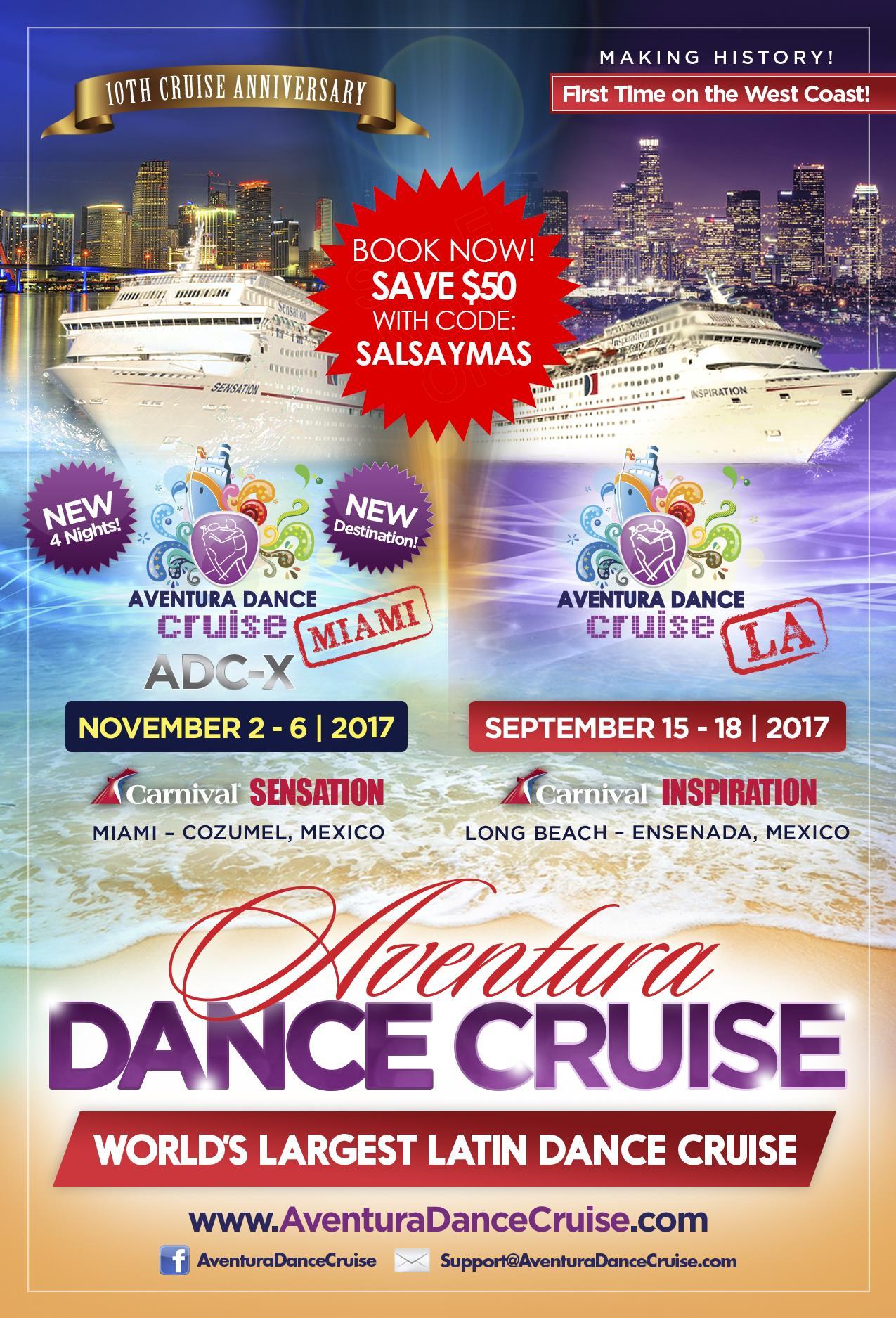 aventura dance cruise discount