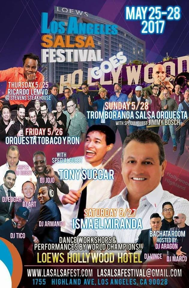 los angeles salsa festival tickets