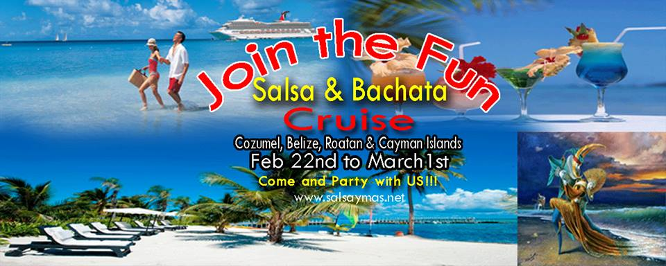 salsa and bachata dance cruise classes and dancing