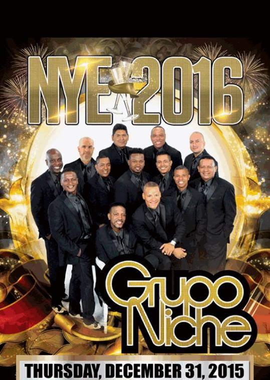 tickets, New Years Eve Grupo Niche tickets