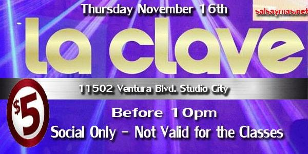 La clave salsa classes and dancing los angeles