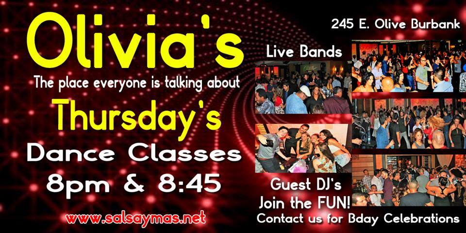 salsa club, salsa dancing in Burbank , Los Angeles