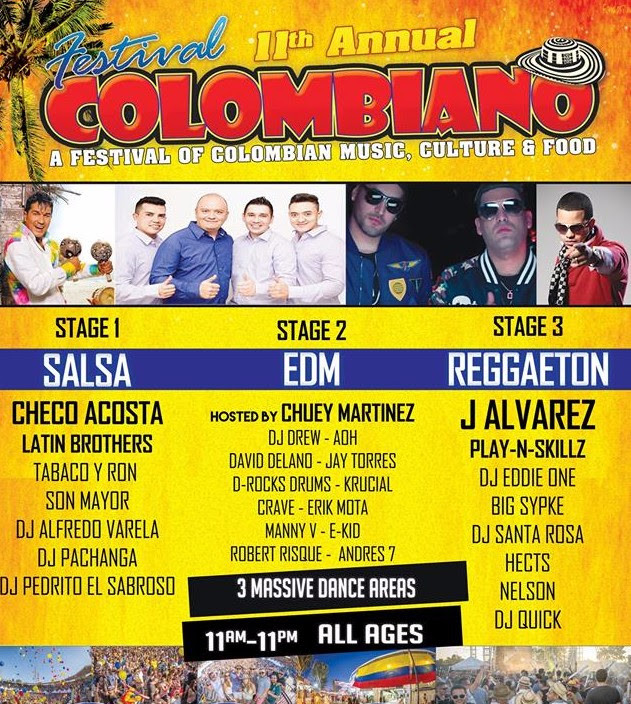 Festival Colombiano Tickets