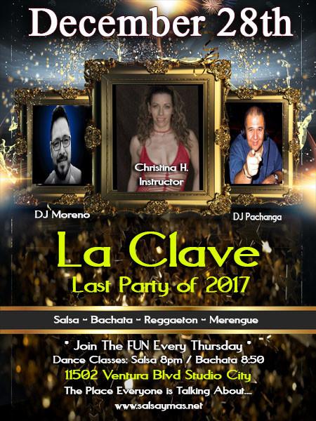 salsa dance instruction classes Christina Haggerty, DJ Moreno, DJ Pachanga