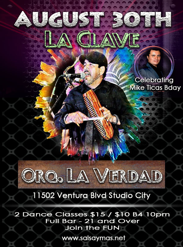 la clave salsa dancing in los angeles Mike and Christina