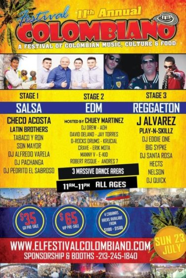 Festival Colombiano Tickets
