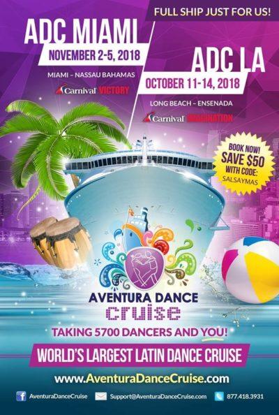 Aventura Dance Cruise Discount Code salsa y mas