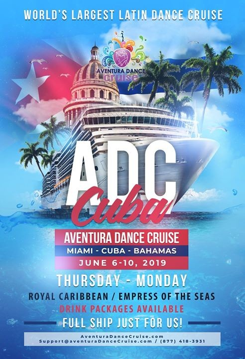 aventura cruise cuba discount code salsaymas